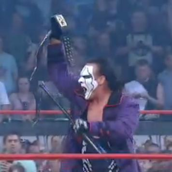 Sting pega o TNA World Heavweygeight Title após botar para correr a Main Event Mafia