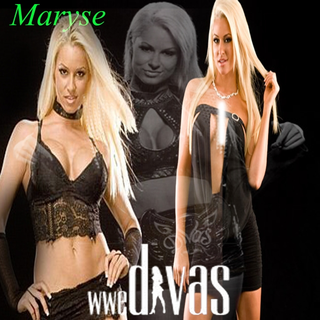 WWE Divas- Maryse